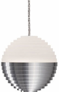 Kuzco PD10502-BN Supernova Modern Brushed Nickel LED Mini Pendant Hanging Light