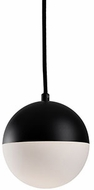 Kuzco PD11706-BK Modern Black LED Mini Pendant Lighting