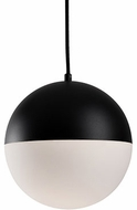 Kuzco PD11710-BK Modern Black LED Mini Lighting Pendant