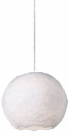 Kuzco PD11908-WH Artemis Contemporary White LED Mini Pendant Lamp