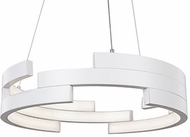 Kuzco PD12722-WH Anello Modern White LED 22  Drop Ceiling Light Fixture