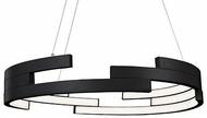 Kuzco PD12732-BK Anello Modern Black LED 32  Pendant Lighting