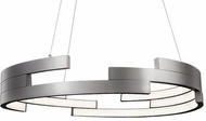 Kuzco PD12732-BN Anello Contemporary Brushed Nickel LED 32  Pendant Light