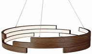 Kuzco PD12732-WT Anello Contemporary Walnut LED 32  Pendant Lamp