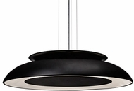 Kuzco PD13020-BK Eclipse Modern Black LED 20  Hanging Pendant Light