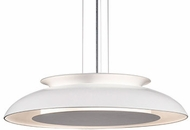 Kuzco PD13020-WH Eclipse Contemporary White LED 20  Pendant Hanging Light