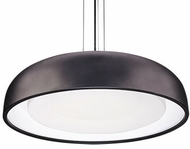 Kuzco PD13124-BK Beacon Modern Black LED 24  Ceiling Pendant Light