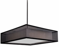 Kuzco PD14015-BK Covina Modern Black LED 15  Drop Lighting Fixture
