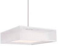 Kuzco PD14015-WH Covina Contemporary White LED 15  Pendant Lighting