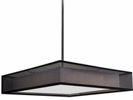 Kuzco PD14020-BK Covina Modern Black LED 20  Pendant Light