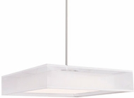 Kuzco PD14020-WH Covina Contemporary White LED 20  Lighting Pendant