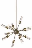 Kuzco PD1424-VB Venka Vintage Brass LED Lighting Chandelier