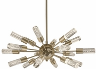 Kuzco PD1429-VB Venka Vintage Brass LED Chandelier Light