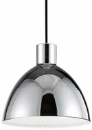 Kuzco PD1709-CH Modern Chrome LED 9  Mini Pendant Lighting Fixture