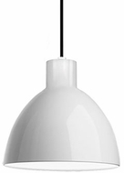 Kuzco PD1709-WH Contemporary White LED 9  Mini Hanging Pendant Lighting
