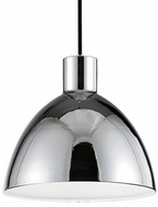 Kuzco PD1712-CH Contemporary Chrome LED 12  Mini Pendant Hanging Light