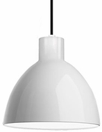 Kuzco PD1712-WH Modern White LED 12  Mini Hanging Light Fixture