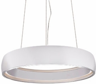 Kuzco PD22723-WH Halo Contemporary White LED 23.25  Drop Ceiling Light Fixture