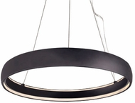 Kuzco PD22735-BK Halo Modern Black LED 35.375  Drop Lighting Fixture