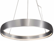 Kuzco PD22735-BN Halo Contemporary Brushed Nickel LED 35.375  Pendant Lighting