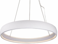 Kuzco PD22735-WH Halo Modern White LED 35.375  Pendant Light