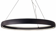 Kuzco PD22753-BK Halo Contemporary Black LED 53  Lighting Pendant