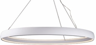 Kuzco PD22772-WH Halo Modern White LED 71.375  Hanging Light