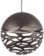Kuzco PD2519-BZ Neptune Contemporary Bronze LED 19  Drop Lighting