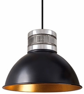 Kuzco PD2612-BK Contemporary Black LED Mini Ceiling Light Pendant