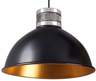 Kuzco PD2618-BK Contemporary Black LED 18.5  Drop Ceiling Light Fixture