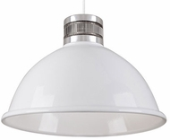 Kuzco PD2618-WH Modern White LED 18.5  Drop Lighting Fixture