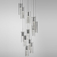 Kuzco PD4412-CH-14 Chrome LED Multi Pendant Lamp