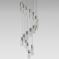 Kuzco PD4418-CH Chrome LED Multi Hanging Lamp