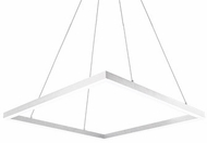 Kuzco PD62243-WH Piazza Modern White LED 43  Drop Lighting