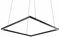 Kuzco PD62255-BK Piazza Contemporary Black LED 5  Drop Ceiling Lighting