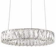 Kuzco PD7818 Solaris Chrome LED 17.5  Hanging Light