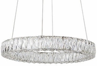 Kuzco PD7824 Solaris Chrome LED 23.6  Pendant Light Fixture