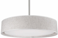 Kuzco PD7920-BG Brushed Nickel LED 20  Drum Hanging Light Fixture