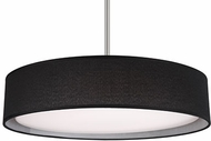 Kuzco PD7920-BK Brushed Nickel LED 20  Drum Drop Lighting