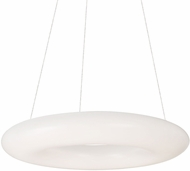 Kuzco PD80718 Cumulus Contemporary White LED 18  Hanging Light Fixture