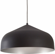 Kuzco PD9117-GH-SV Helena Contemporary Graphite with Silver LED Hanging Pendant Light
