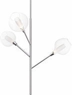 Kuzco PD91403-CH-07 Sprout Modern Chrome LED Chandelier Lighting