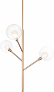 Kuzco PD91403-VB-00 Sprout Contemporary Vintage Brass LED Lighting Chandelier
