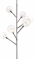 Kuzco PD91406-CH-00 Sprout Contemporary Chrome LED Chandelier Lighting
