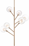 Kuzco PD91406-VB-00 Sprout Modern Vintage Brass LED Chandelier Light