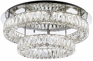 Kuzco SF7842 Solaris Chrome LED 26  Ceiling Lighting