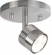 Kuzco TR10006-BN Modern Brushed Nickel LED Ceiling Light