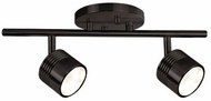 Kuzco TR10015-BZ Contemporary Bronze LED 2-Light Home Track Lighting