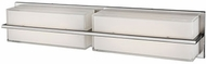 Kuzco VL2424-BN Brushed Nickel LED 2-Light Vanity Lighting