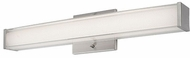 Kuzco VL3224-BN Contemporary Brushed Nickel LED Bathroom Light Fixture